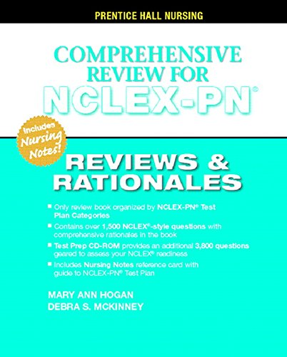 9780131196056: Prentice Hall's Reviews and Rationales: Comprehensive NCLEX-PN Review (Prentice Hall Nursing Reviews & Rationales)