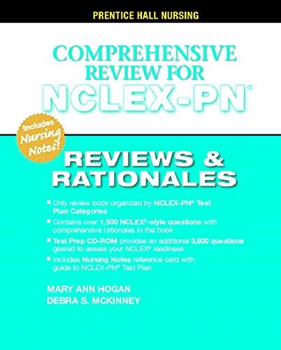 9780131196056: Prentice Hall's Reviews & Rationales: Comprehensive NCLEX-PN Review
