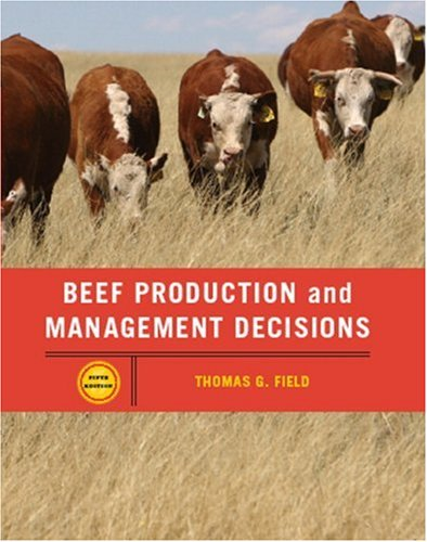 9780131198388: Beef Production Management and Decisions (5th Edition)