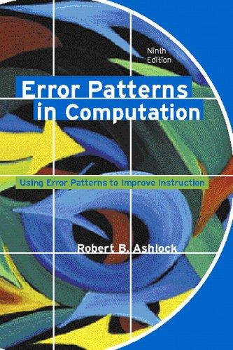 9780131198869: Error Patterns in Computation: Using Error Patterns to Improve Instruction (9th Edition)