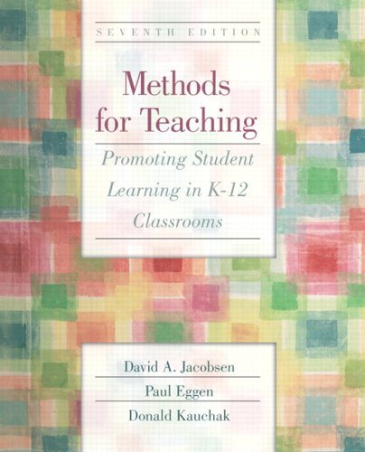 9780131199507: Methods for Teaching: Promoting Student Learning in K-12 Classrooms