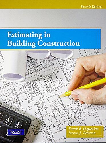 Estimating in Building Construction: Peterson, Steven J.;