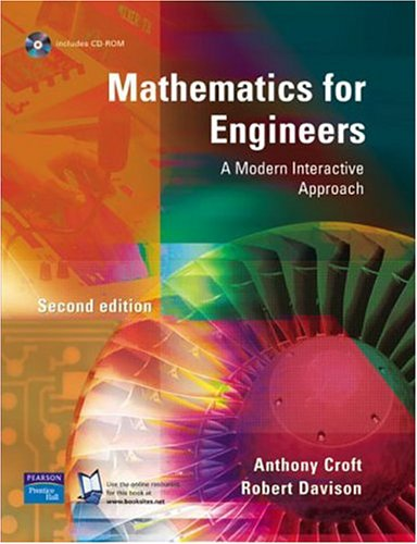 9780131201934: Mathematics For Engineers: A Modern Interactive Approach
