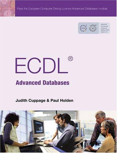 9780131202405: Ecdl Advanced Databases