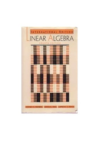 9780131202665: Linear Algebra:International Edition
