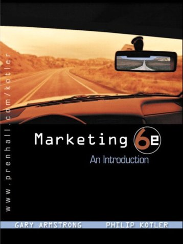 9780131202757: Marketing: An Introduction (International Edition)
