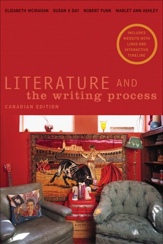 9780131203099: Literature and the Writing Process, Canadian Edition