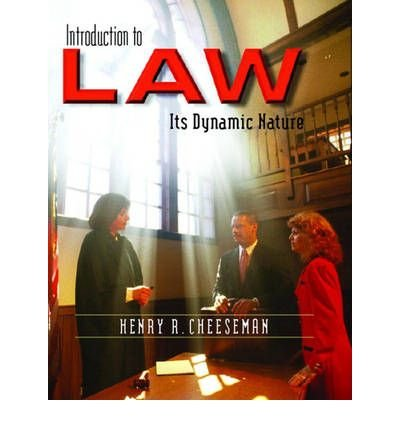 9780131203488: Introduction to Law: Its Dynamic Nature