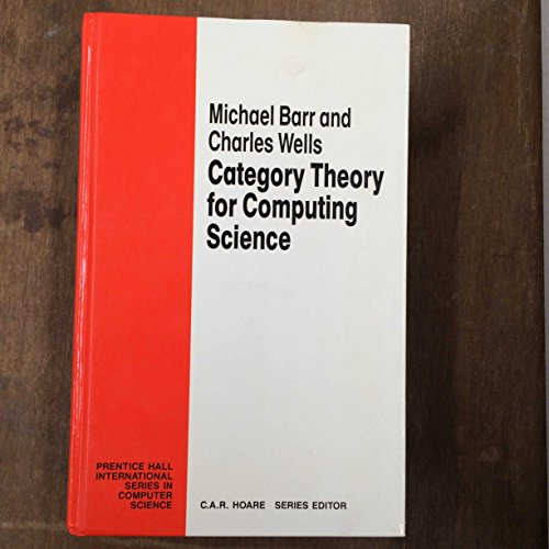 9780131204867: Category Theory for Computing Science