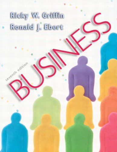 Business: International Edition: Ricky W. Griffin;