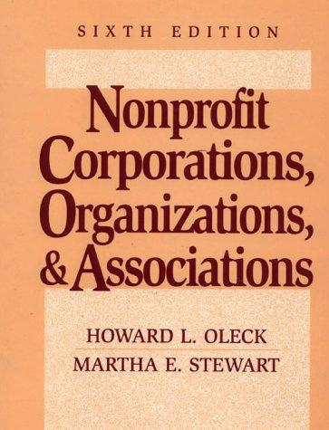 9780131213104: Nonprofit Corporations, Organizations, and Associations