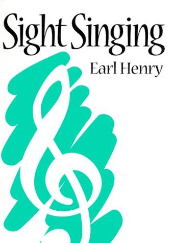 9780131213364: Sight Singing