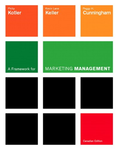 9780131213456: A Framework for Marketing Management, First Canadian Edition