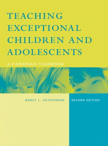 9780131216679: Teaching Exceptional Children and Adolescents: A Canadian Casebook