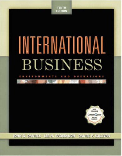 9780131217263: International Business: Environments and Operations (International Edition)