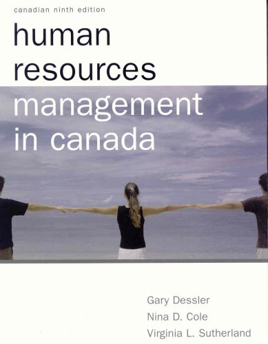 Human Resource Management: Cynthia d. Fisher