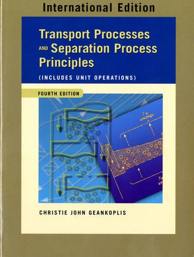 9780131217607: Transport Processes and Separation Process Principles (Includes Unit Operations): International Edition