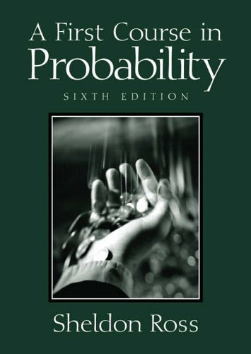 9780131218024: A First Course in Probability (International Edition)