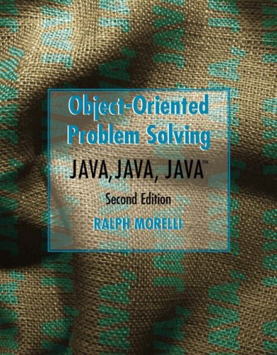 9780131218048: Java, Java, Java Object-Oriented Problem Solving (International Edition)