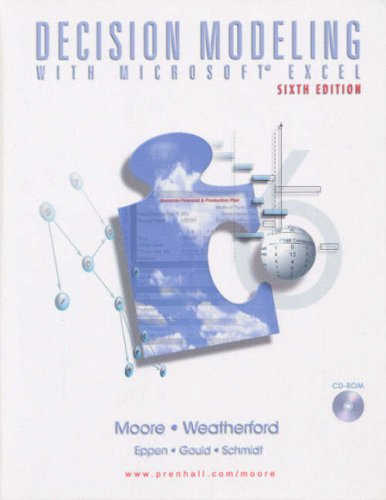 9780131218512: Decision Modeling with Microsoft Excel