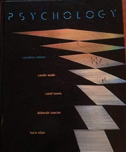 9780131219359: Psychology [Canadian Edition]