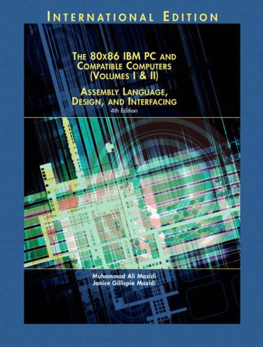 9780131219755: 80X86 IBM PC and Compatible Computers: Assembly Language, Design, and Interfacing v. 1 & 2