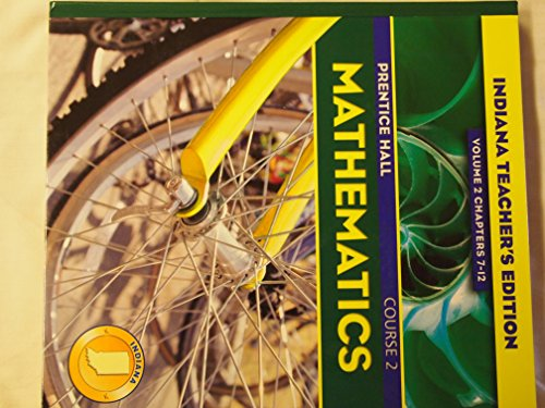 Prentice Hall Mathematics Course 2 Indiana Teacher: Pearson Prentice Hall