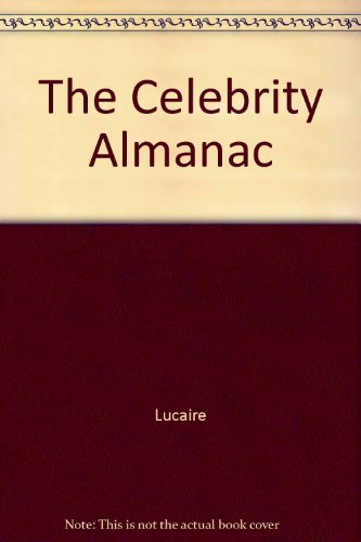 9780131223677: The Celebrity Almanac