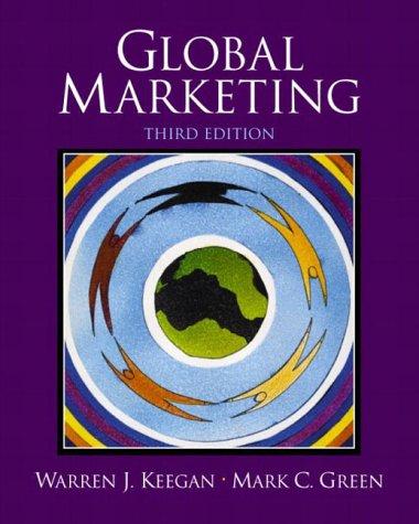 9780131224537: Global Marketing (International Edition)