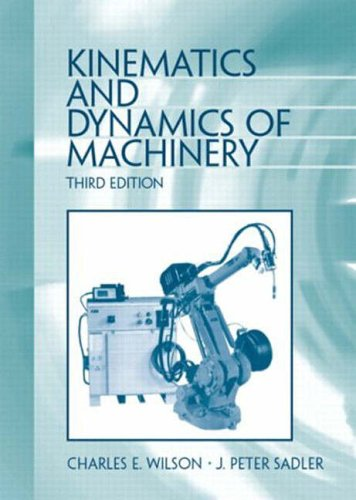 9780131225398: Kinematics and Dynamics of Machinery
