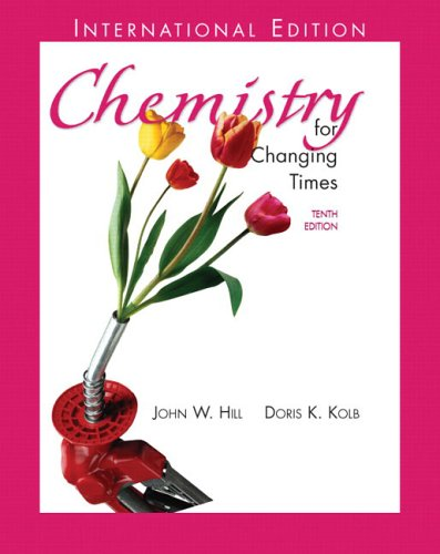 9780131225466: Chemistry for Changing Times: International Edition