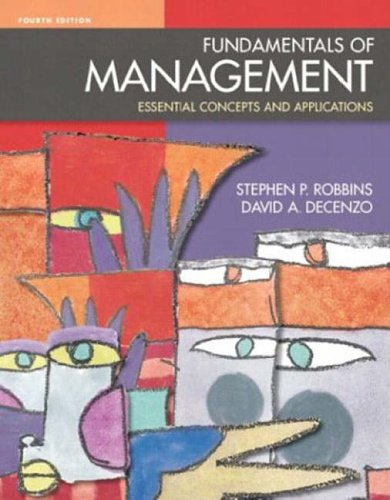 9780131225473: Fundamentals of Management (International Edition)