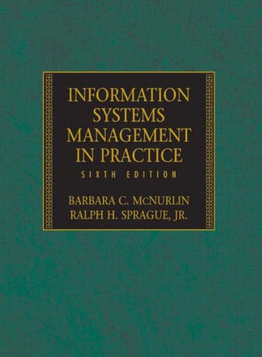 9780131225480: Information Systems Management in Practice