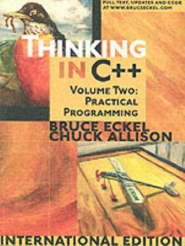 9780131225527: Thinking in C++: Practical Programming v. 2