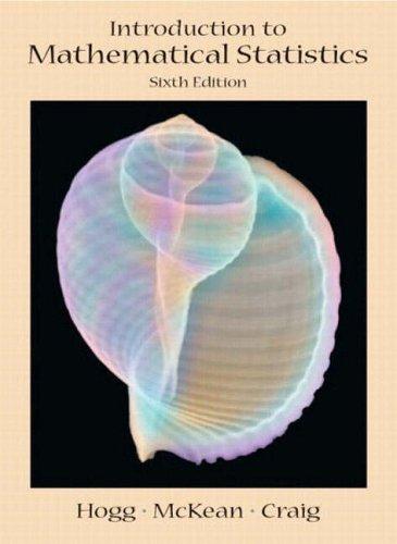 9780131226050: Introduction to Mathematical Statistics: International Edition