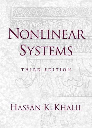 9780131227408: Nonlinear Systems: International Edition