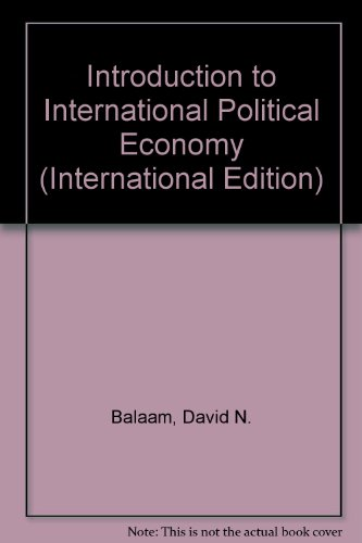 9780131227422: Introduction to International Political Economy (International Edition)