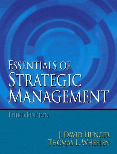 9780131227880: Essentials of Strategic Management: International Edition
