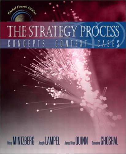9780131227903: The Strategy Process: Concepts, Contexts, Cases (Pie)