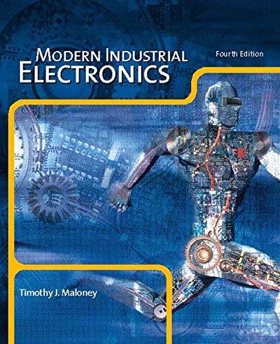 9780131228023: Modern Industrial Electronics (International Edition)