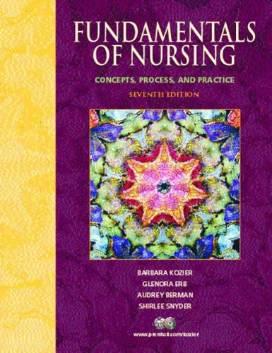 9780131228788: Fundamentals of Nursing: Concepts, Process, and Practice (International Edition)