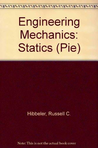 9780131228825: Engineering Mechanics: Statics (Pie)