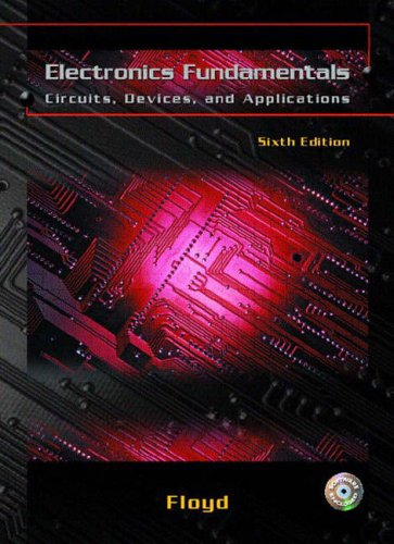 9780131228849: Electronics Fundamentals: Circuits, Devices, and Applications (International Edition)