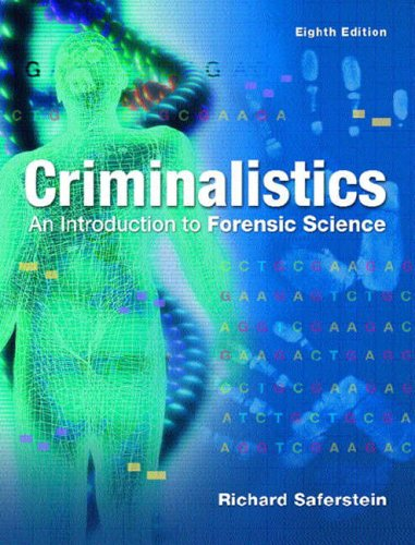 9780131228894: Criminalistics: An Introduction to Forensic Science