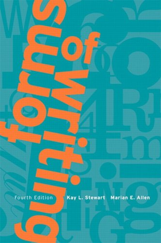9780131228931: Forms of Writing: A Brief Guide and Handbook, Fourth Edition