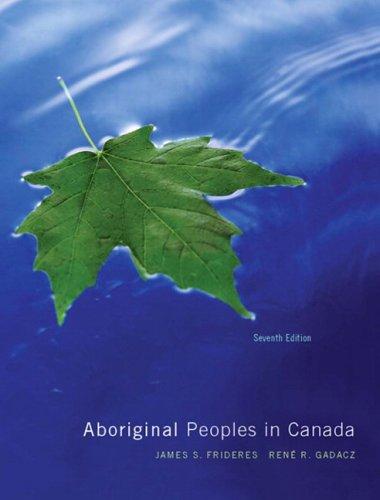 9780131228948: Aboriginal Peoples in Canada