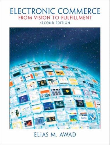 9780131229020: Electronic Commerce: International Edition
