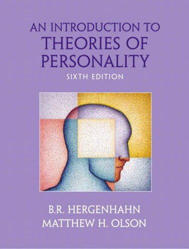 9780131229075: An Introduction to Theories of Personality (International Edition)