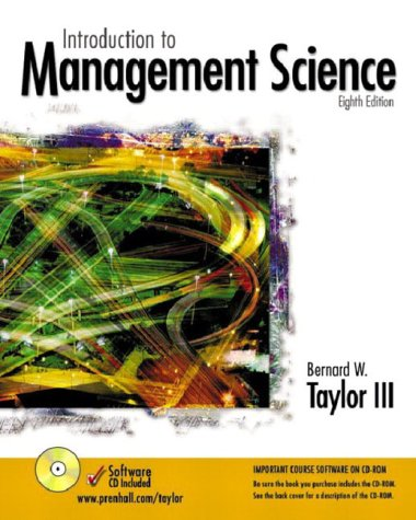 9780131229327: Introduction to Management Science