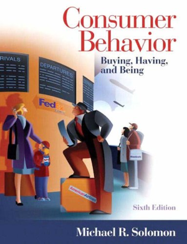 9780131230118: Consumer Behavior: Buying, Having, and Being